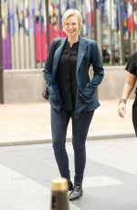 JANE LYNCH Out and About in New York 07/06/2017