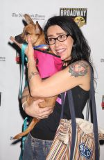 JANEANE GAROFALO at 19th Annual Broadway Barks Animal Adoption Event in New York 07/08/2017