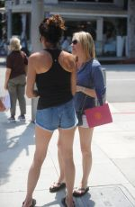 JANICE DISKINSON Out in Beverly Hills 07/05/2017