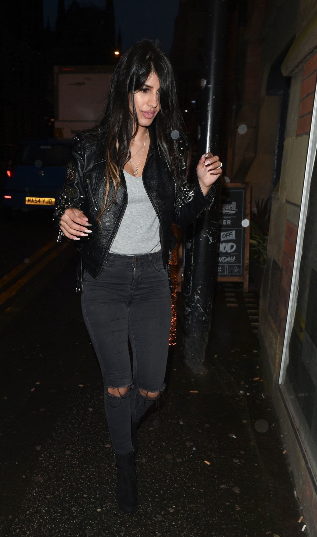 JASMIN WALIA at Smoke House Bar and Restaurant in Manchester 07/21/2017