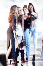 JASMINE TOKES, ROMEE STRIJD, TAYLOR HILL, LAIS RIBEIRO and JOSEPHINE SKRIVER on the Set of a Photoshoot 07/17/2017