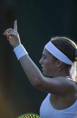 JELENA OSTAPENKO at Wimbledon Championships 07/04/2017