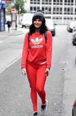 JEMMA LUCY Out and About in Manchester 07/01/2017