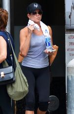 JENNIFER ANISTON Leaves a Gym in New York 07/17/2017