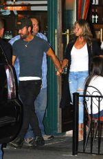 JENNIFER ANISTON Leaves Sant Ambroeus Restaurant in New York 07/18/2017