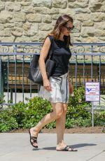 JENNIFER GARNER Arrives at a Church in Brentwood 07/09/2017