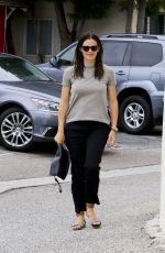JENNIFER GARNER Arrives at a Church in Pacific Palisades 07/02/2017