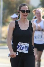 JENNIFER GARNER at Brentwood July 4th Firecracker 5k Run 07/04/2017