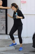 JENNIFER GARNER Leaves a Gym in Los Angeles 07/08/2017