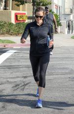 JENNIFER GARNER Leaves a Gym in Los Angeles 07/11/2017