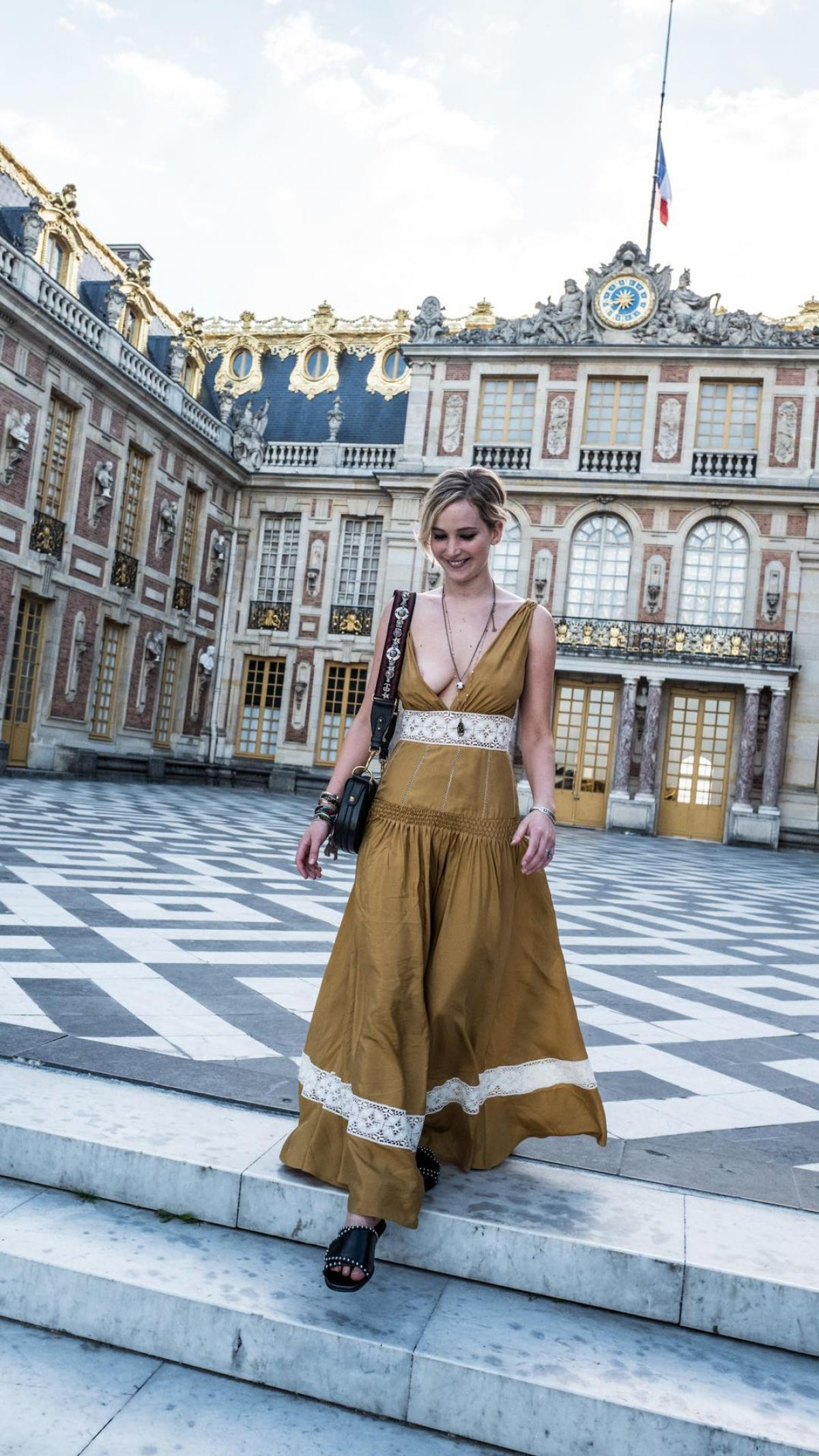 JENNIFER LAWRENCE at Palace of Versailles in Paris, July 2017