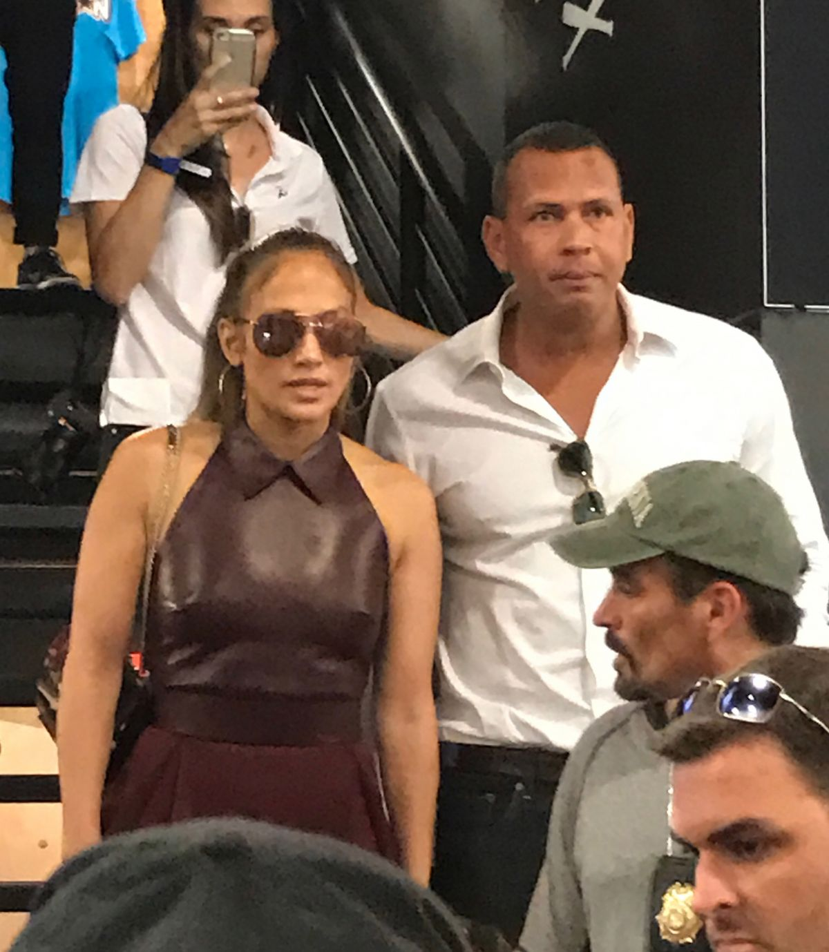 JENNIFER LOPEZ and Alex Rodriguez Out in Miami 07/09/2017