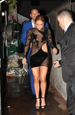 JENNIFER LOPEZ Night Out in Miami 07/23/2017