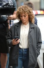 JENNIFER LOPEZ on the Set of Shades of Blue in New York 07/06/2017