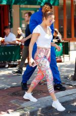 JENNIFER LOPEZ Out in New York 26/07/2017