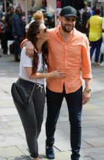 JENNIFER METCALFE Out Shopping in Newcastle 07/03/2017