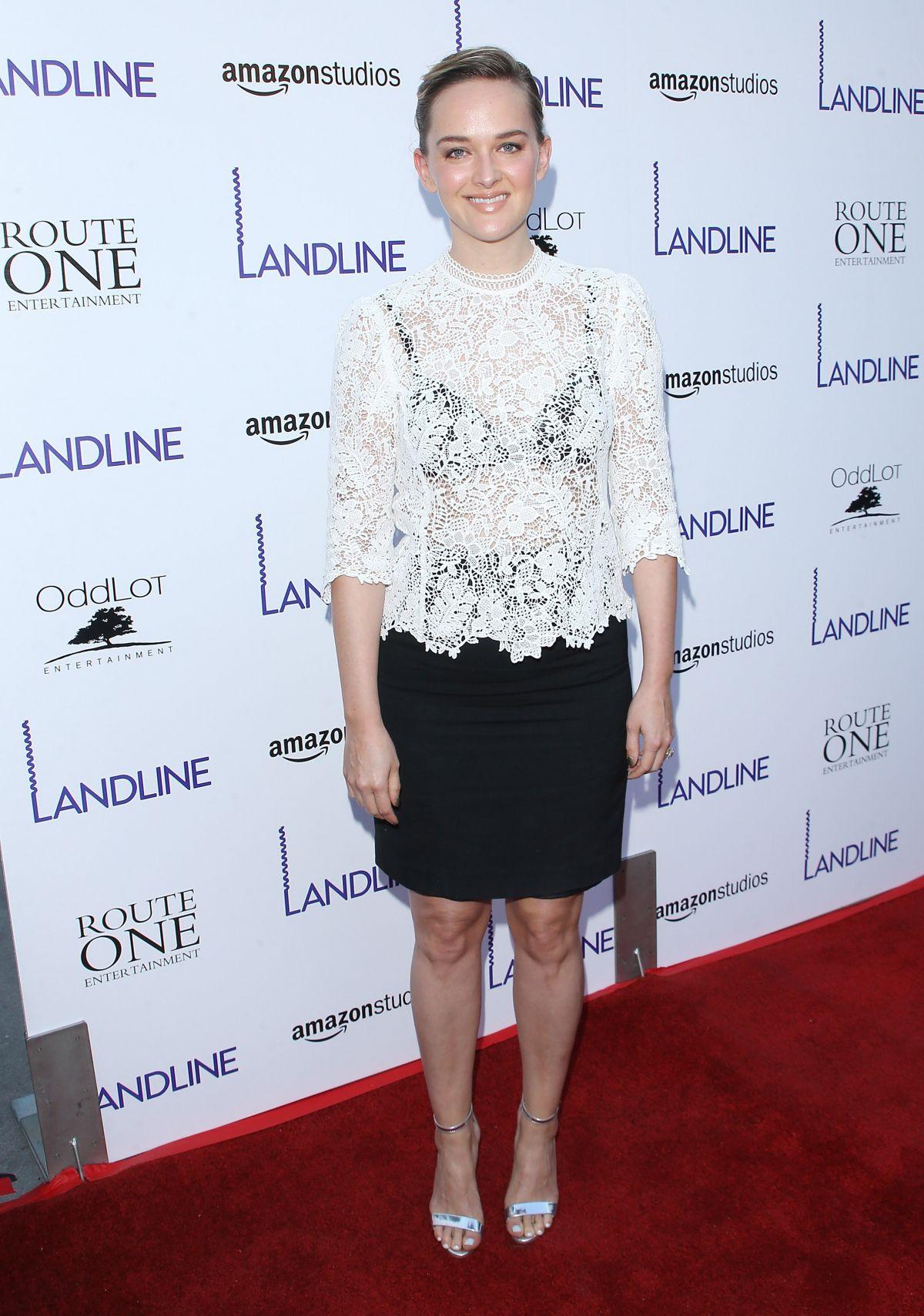 JESS WEIXLER at Landline Premiere in Hollywood 07/12/2017