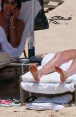 JESSICA ALBA at a Beach in Hawaii 07/18/2017