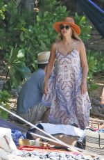 JESSICA ALBA on the Beach in Hawaii 07/17/2017