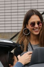 JESSICA ALBA Out and About in Malibu 07/01/2017
