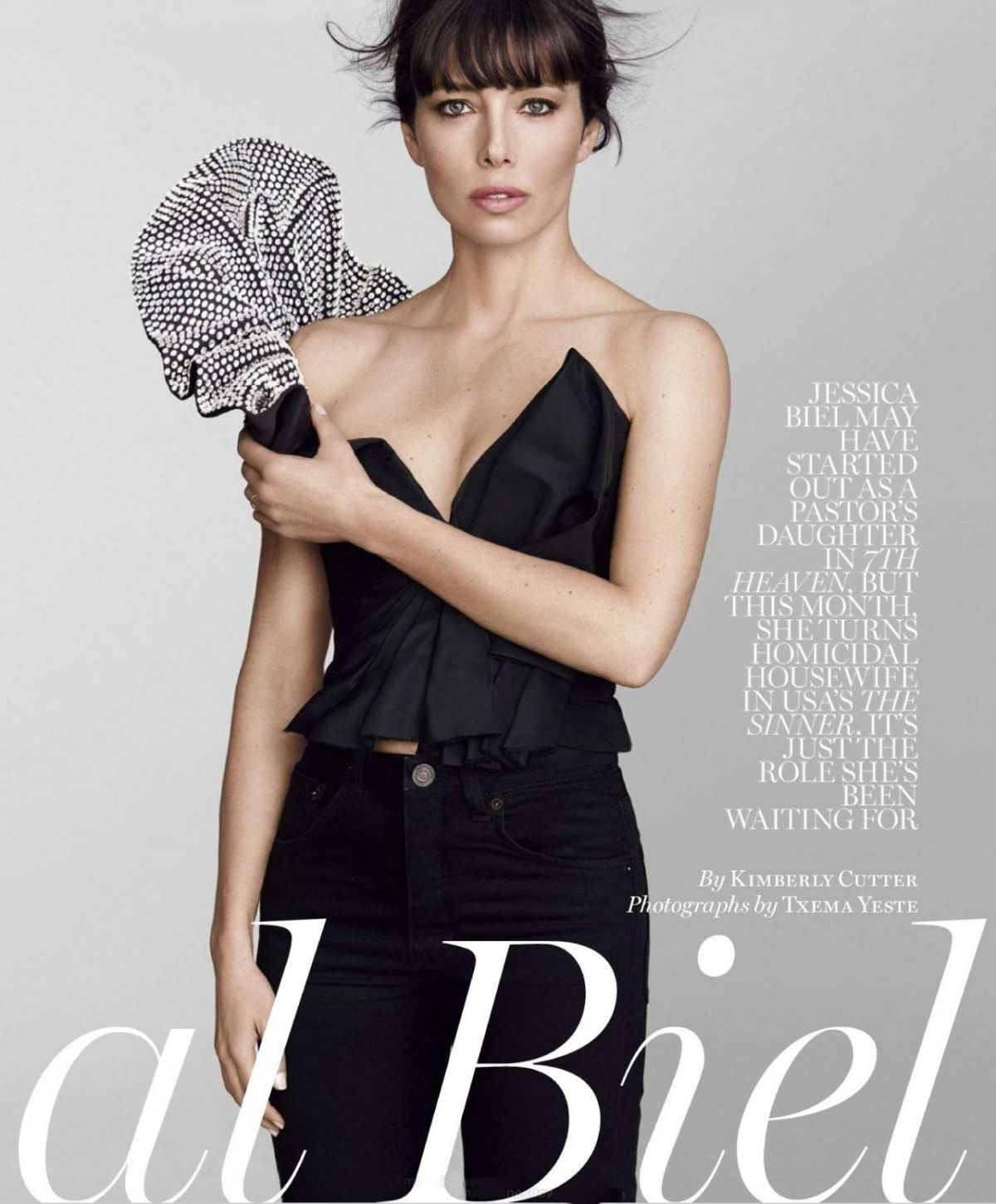 jessica biel in marie claire magazine august 2017 hawtcelebs. Black Bedroom Furniture Sets. Home Design Ideas