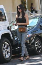 JESSICA GOMES Out and About in West Hollywood 07/10/2017