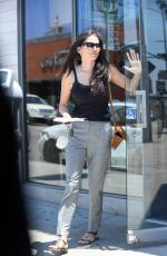 JESSICA GOMES Out for Breakfast at Jon & Vinny
