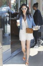 JESSICA GOMES Out for Breakfast in West Hollywood 07/05/2017