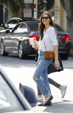 JESSICA GOMES Out Shopping in Beverly Hills 07/07/2017