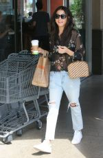 JESSICA GOMES Out Shopping in Beverly Hills 07/14/2017