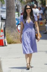 JESSICA GOMES Out Shopping in Los Angeles 07/08/2017