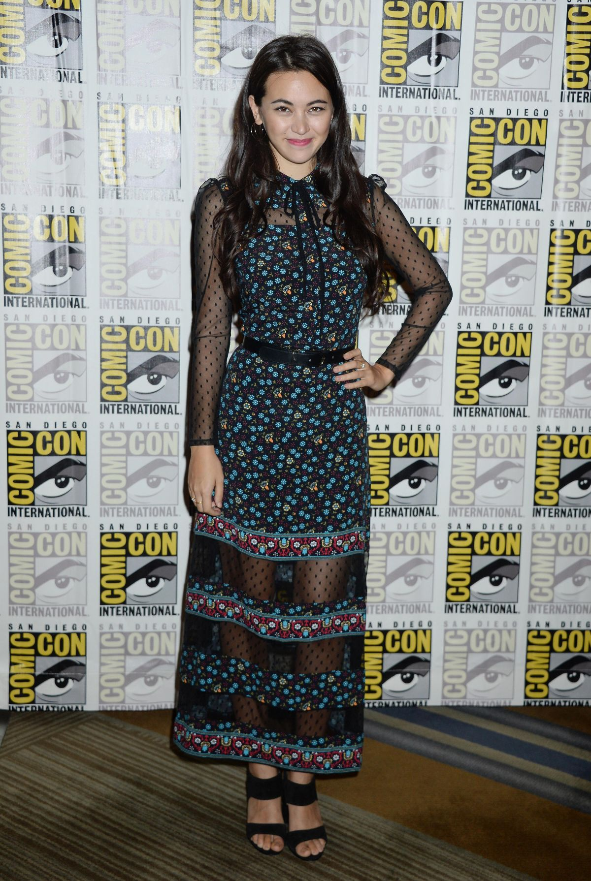 JESSICA HENWICK at The Defenders Presentation at Comic-con in San Diego 07/21/2017