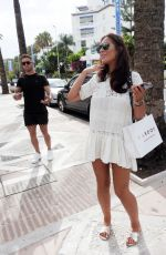 JESSICA SHEARS Out and About in Marbella 07/18/2017