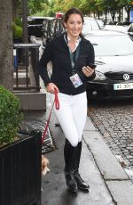 JESSICA SPRINGSTEEN Out and About in Paris 07/02/2017