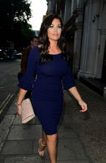 JESSICA WRIGHT at Nobu in London 07/04/2017