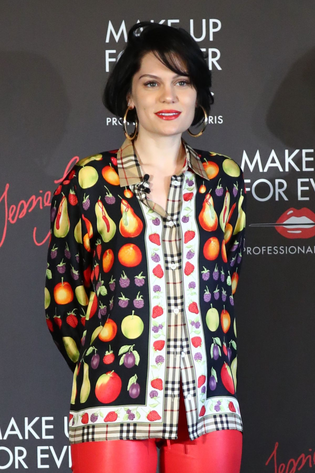 JESSIE J at Make Up Forever Photocall in Tokyo 07/20/2017