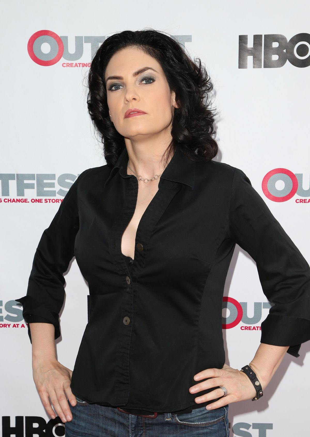 JILL BENNETT at Strangers TV Show Screening at Outfest Los Angeles LGBT Film Festival 07/15/2017