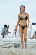 JOANNA KRUPA in Bikini at a Beach in Miami 07/11/2017