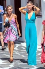 JOANNA KRUPA Out and About in Mykonos 07/21/2017