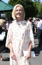 JOELY RICHARDSON Arrives at Wimbledon Championships in London 07/10/2017