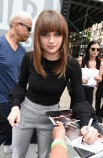 JOEY KING Arrives at AOL Studios in New York 07/10/2017