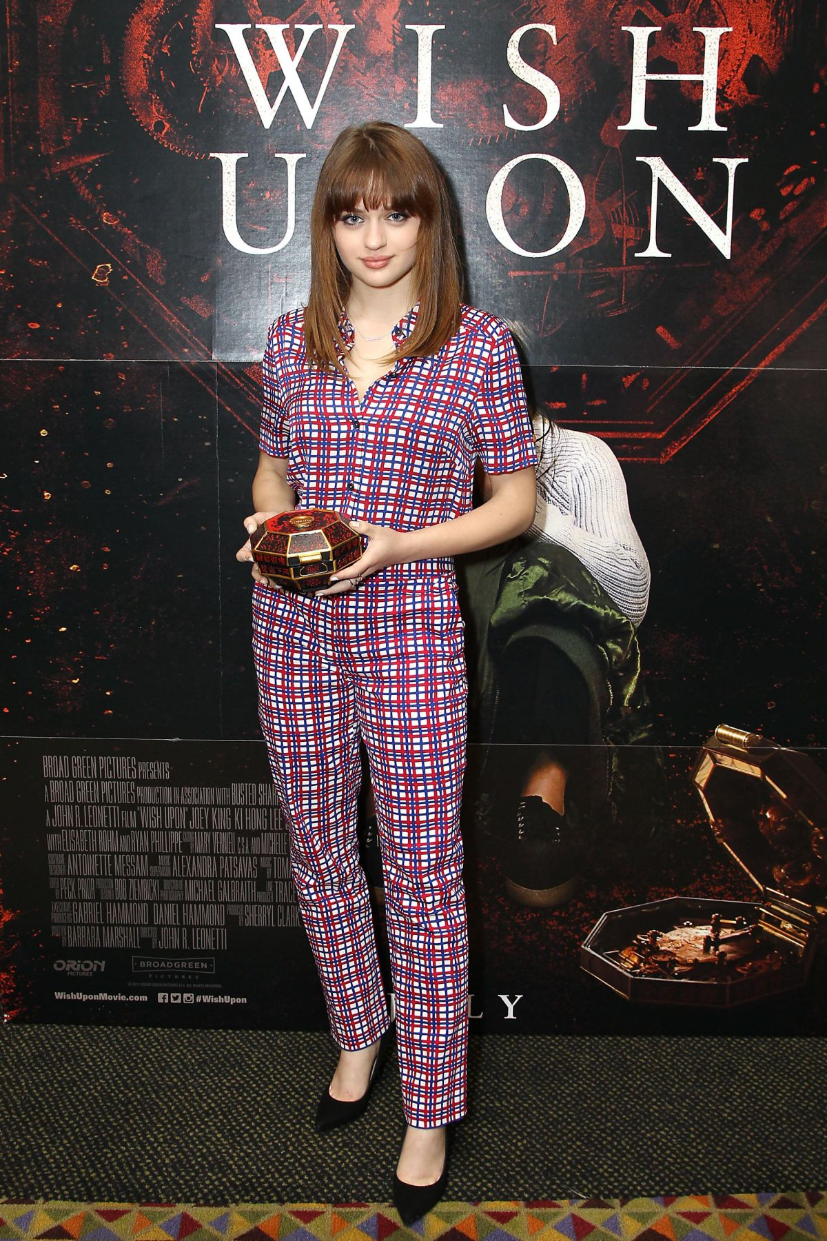JOEY KING at Wish Upon Special Fan Screening in New York 07/10/2017