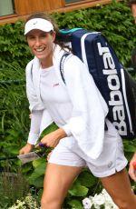 JOHANNA KONTA Arrives at Wimbledon Championships in London 07/11/2017