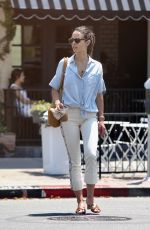 JORDANA BREWSTER Out and About in Los Angeles 07/10/2017