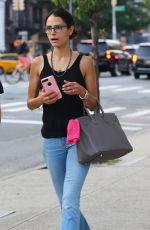 JORDANA BREWSTER Out and About in New York 07/18/2017