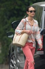 JORDANA BREWSTER Out in Los Angeles 07/10/2017