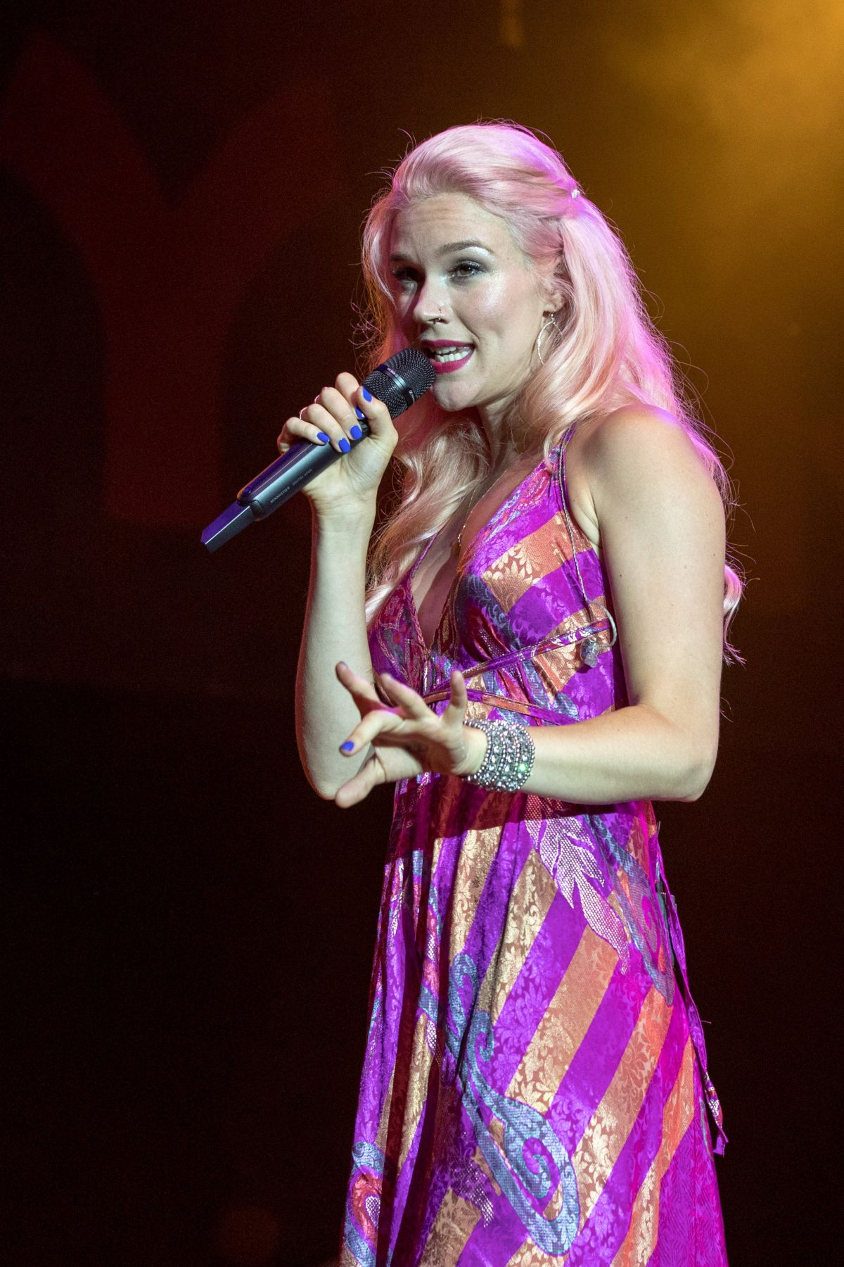 JOSS STONE Performs at Summerfest Music Festival 2017 in Milwaukee 06/30/2017