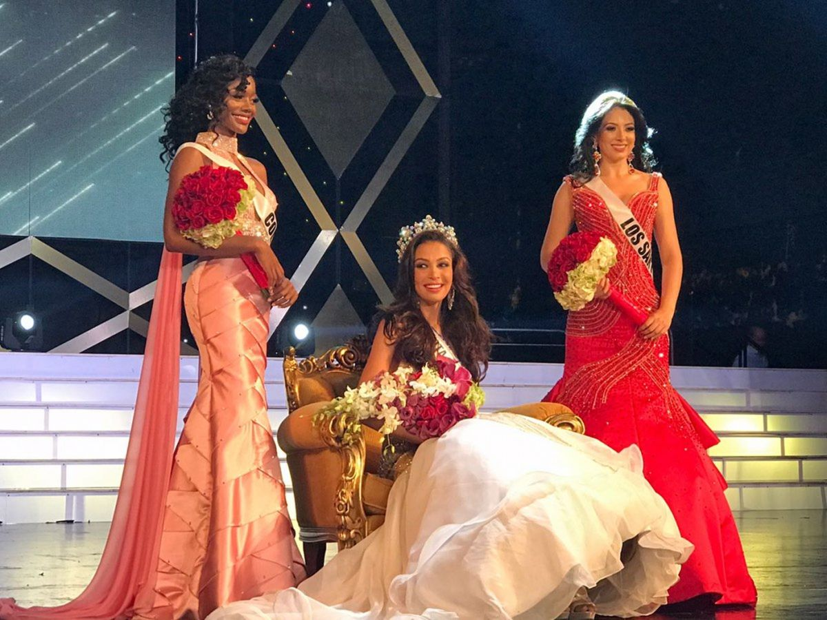 JULIANNE BRITTON Crowned Miss World Panama 2017