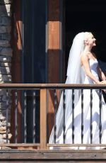 JULIANNE HOUGH and Brooks Laich at Their Wedding Day in Los Angeles 07/07/2017