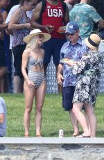 JULIANNE HOUGH in Swimsuit at Lake Front in Coeur D